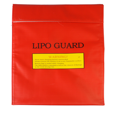 Lipo Safe Lipo Guard Red misure  30x23x0.5cm
