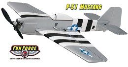 GPMA1192 - P 51 MUSTANG EP FUN FORCE pronto al volo